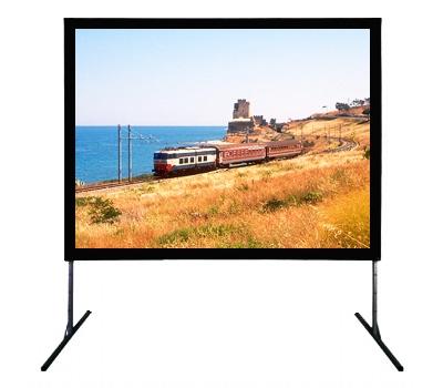 Coppia di montanti regolabili per schermi Service fino a 400cm