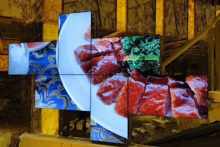 Art Wall creata con una composizione di monitor
