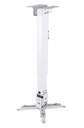 """Staffa a soffitto """"Slim"""" universale da 42/65cm per videoproiettore"""