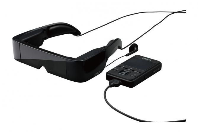 Visore multimediale Epson Moverio BT-100 ***Ricondizionato d'occasione***