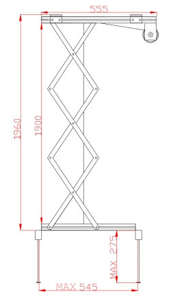 Prolift 200: vista laterale aperto
