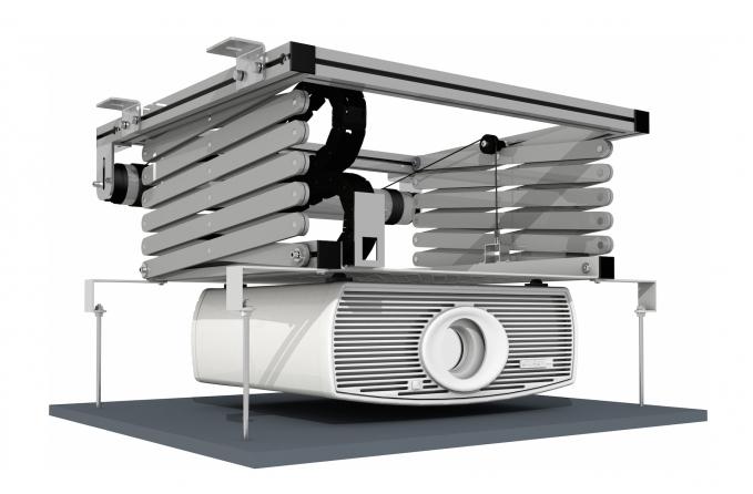"""Elevatore motorizzato da controsoffitto per videoproiettori """"Prolift 200"""""""