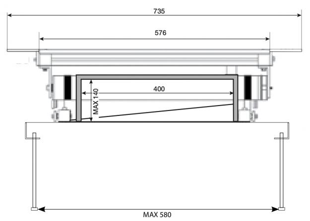 Prolift 30: Vista frontale chiuso