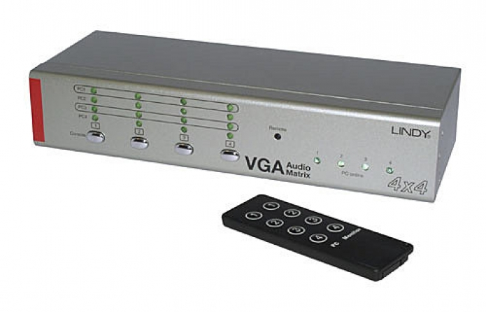 Matrice Switch VGA & Audio 4 x 4