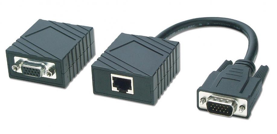 Extender VGA passivo Cat. 5, 100m