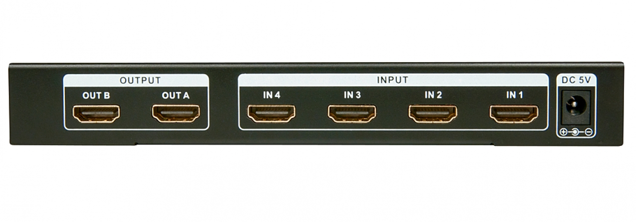 SWITCH MATRICE HDMI 4X2 , 4k 3D