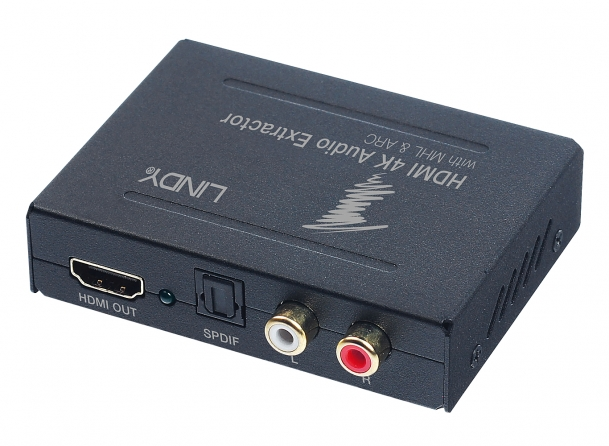 Audio Extractor HDMI 4K con MHL Bypass