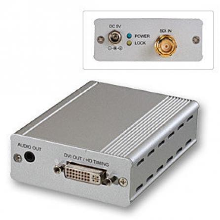 Convertitore & Extender 3G SDI a DVI-D
