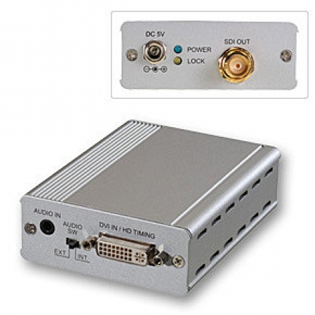 Converter & Extender da DVI-D a 3G SDI