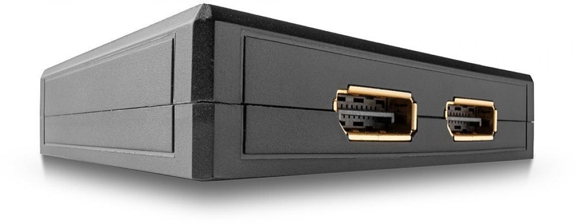 Switch DisplayPort 1.2 Bidirezionale 2 porte