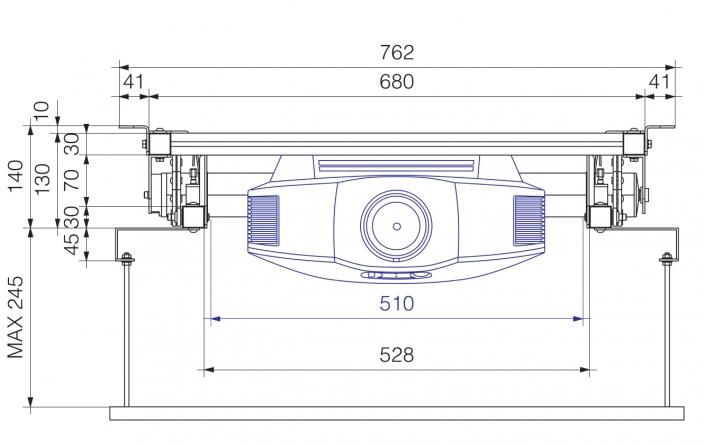 Prolift H40 HC - Vista frontale Chiuso