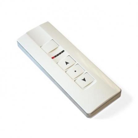 """Trasmettitore """"Premium"""" fino a 5 canali e 3 pulsanti con selettore di canale a led"""