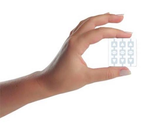 """Trasmettitore """"Way"""" a 3 canali e 3 pulsanti per ogni canale"""