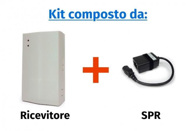 Comando sincro power relay (ricevitore + SPR)