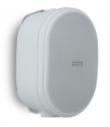 Coppia di diffusori da parete Apart OVO8P-W, 60W