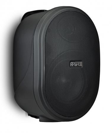 Coppia di diffusori da parete Apart OVO8-BL, 160W