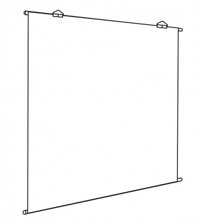 """Provis - Teli semplici da proiezione """"Basic"""
