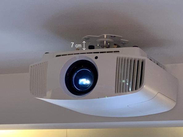 """Supporto professionale per videoproiettore """"Arakno-mini"""" ultra slim 7cm"""