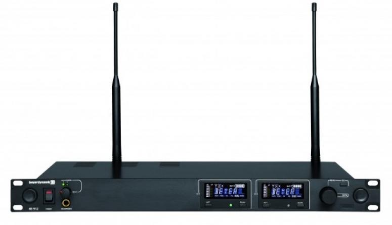 Ricevitore doppio UHF Beyerdynamic NE 912 banda 502-574 MHz