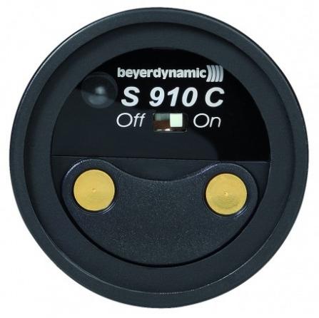 Trasmettitore palmare UHF Beyerdynamic S 910 C banda 502-538 MHz