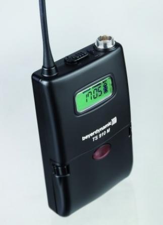 Trasmettitore da tasca UHF Beyerdynamic TS 910 M banda 646-682 MHz
