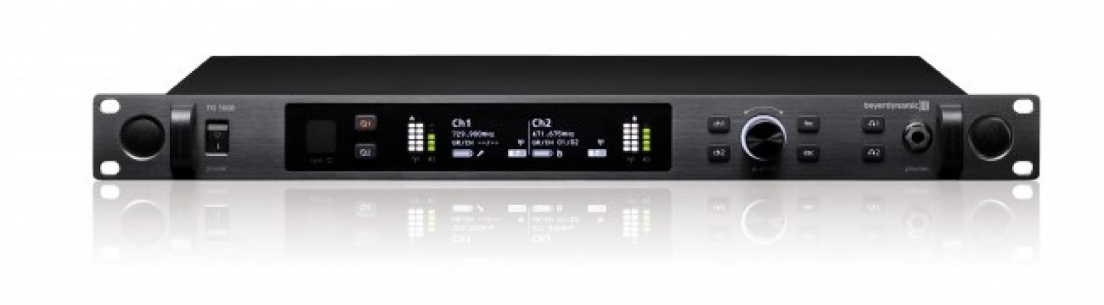 Ricevitore doppio UHF Beyerdynamic TG 1000DR banda 470-789 MHz