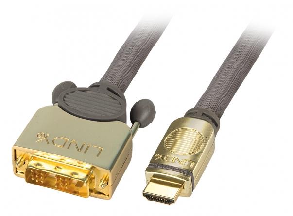 Cavo DVI-D / HDMI GOLD, 3m