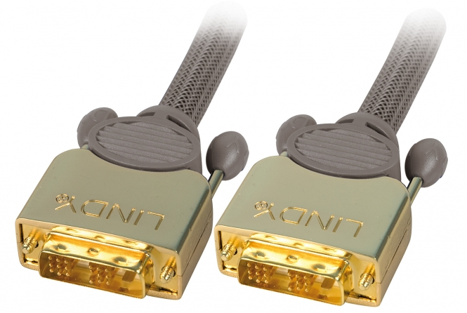 Cavo DVI-D GOLD SLD Single Link 25m