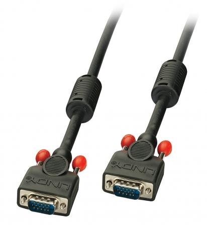 Cavo Monitor S-VGA Nero, 30m