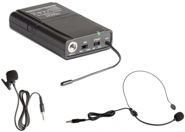 Sistema radiomicrofonico da tasca Denon ENVOIBELTPACK