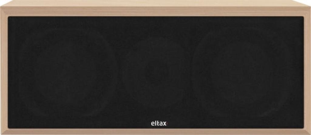 """Diffusore centrale passivo a 2 vie Eltax """"Monitor Center"""" 120W (legno chiaro)"""