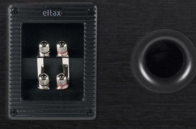 """Diffusore centrale passivo a 2 vie Eltax """"Monitor Center"""" 120W (nero)"""