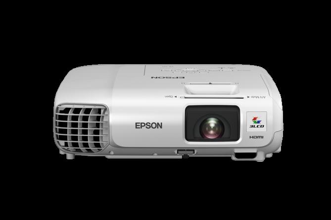 Videoproiettore Epson EB-S17 (vista frontale 1)