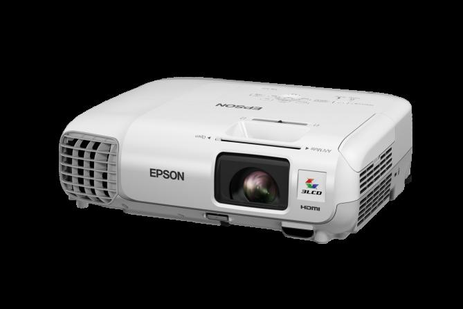Videoproiettore Epson EB-S17 (vista laterale 1)