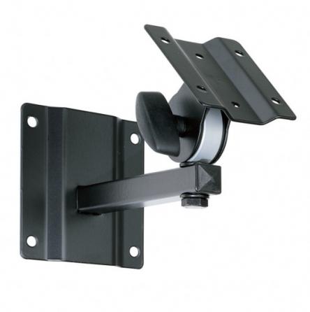 Supporto da parete orientabile per diffusori con flangia