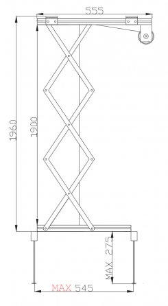 Prolift H200 - Vista laterale aperto