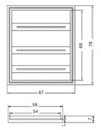 Prolift H500: Sistema del fissaggio del proiettore