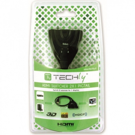 Switch HDMI 2 porte Full HD 1080p 3D
