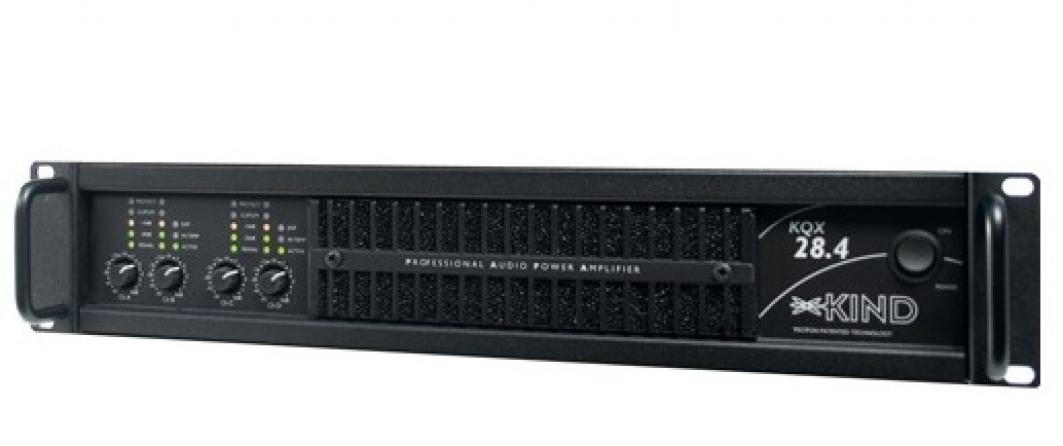 Amplificatore classe D Kind Audio KQX 16.4, 4 canali