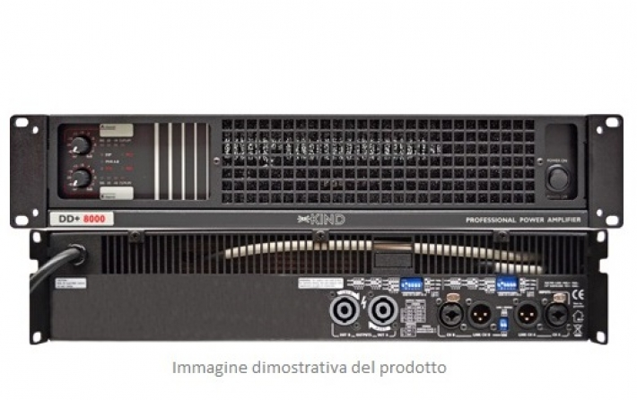 Amplificatore classe D Kind Audio DD+ 8000, 2 canali