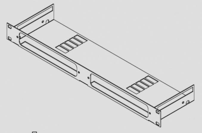 Kit per montaggio rack 1 unità Labgruppen RMKL