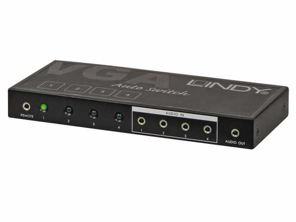VGA & Audio Selector 4:1