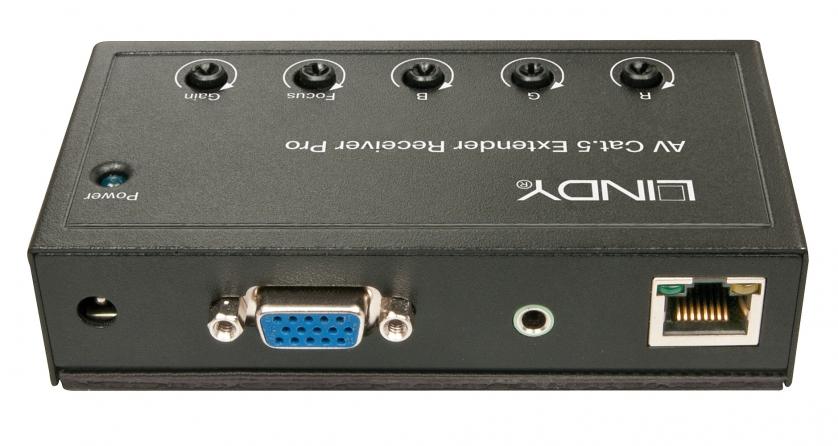 Ricevitore VGA & Audio Cat.5/6 Pro, 300m