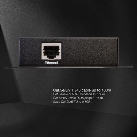 Extender HDMI over Ethernet: Trasmettitore