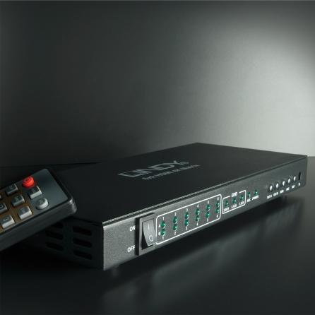 Switch Matrice HDMI 4K UHD 6x2 Professional, con funzione PiP e ARC
