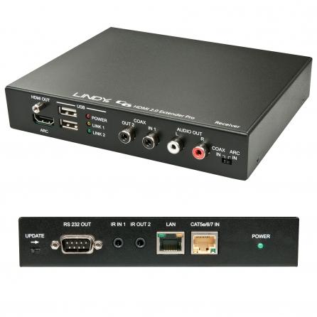 Extender Premium C6 HDMI 2.0 HDBaseT 2.0 - Ricevitore