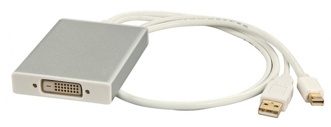 Adattatore Mini DisplayPort a DVI Dual Link