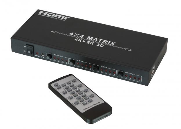 Matrice 4x4 HDMI 4K UHD