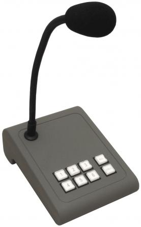 Base paging con microfono gooseneck Apart MICPAT-6