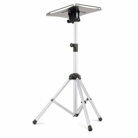 Supporto da terra per videoproiettore su stativo con piano inclinabile 60x60cm